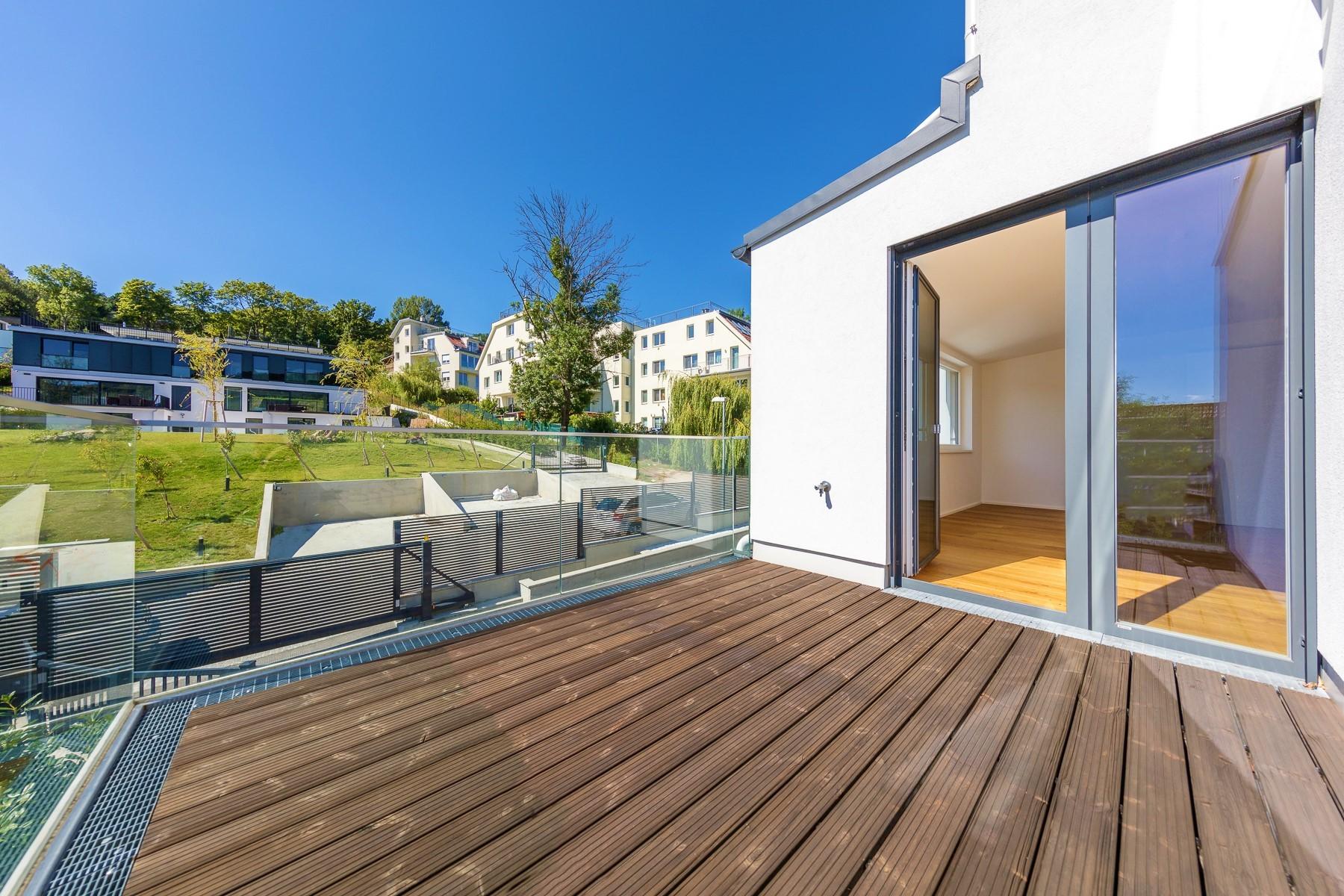 Exklusive Neubauwohnung mit 3 Terrassen mit phantastischem Ausblick Objekt_31628
