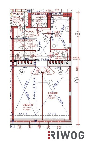 Bis zum Steffl und retour | 3-Zimmer Dachgeschosswohnung auf zwei Ebenen | exklusiver ERSTBEZUG /  / 1050Wien / Bild 10