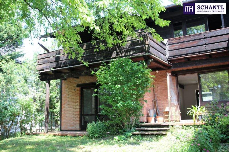Naturidylle ! Absolute Toplage ! Südseitiges Traumgrundstück mit ausbaubarem Haus in Hinterbrühl ! /  / 2371Hinterbrühl / Bild 1