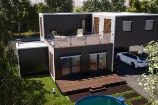 Modulhaus TOP 125+ mit Terrasse und Doppelstellplatz!