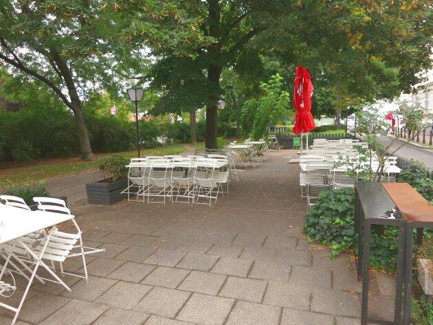 Stylisches Restaurant mit tollem Gastgarten in guter Lage des 2. Bezirks