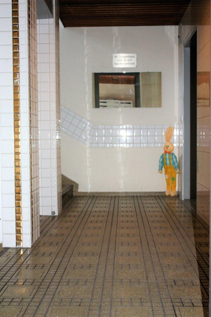 Eingangsbereich des Hauses