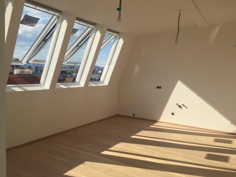 Sonnige Dachgeschosswohnung - Ausgezeichnete Qualität - Erstbezug