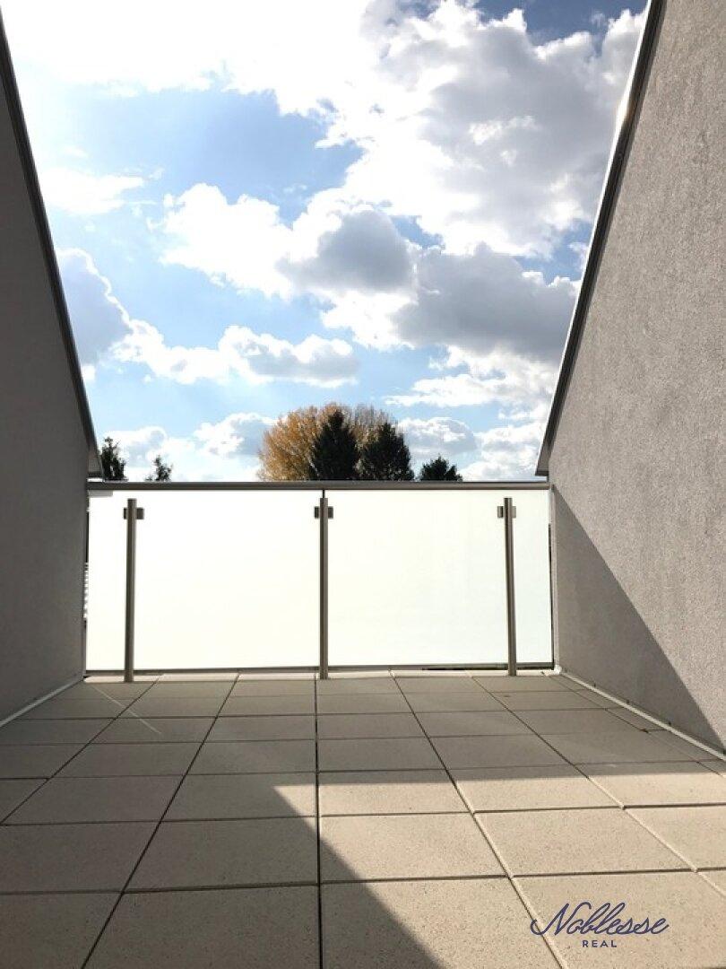 Terrasse Aussicht DG