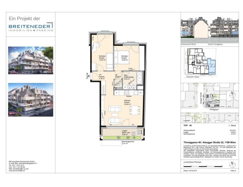 Thimiggasse 40 - Moderne Apartments in ruhiger Grünlage in Wien Gersthof /  / 1180Wien / Bild 2