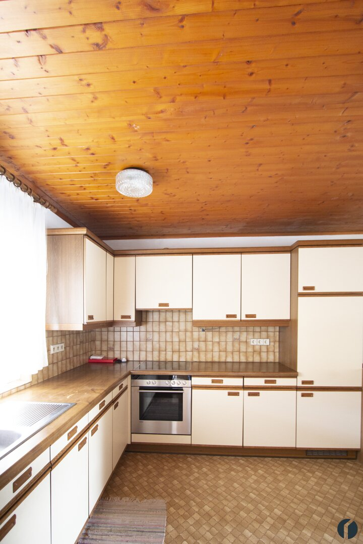 Küche mit Sitzeck