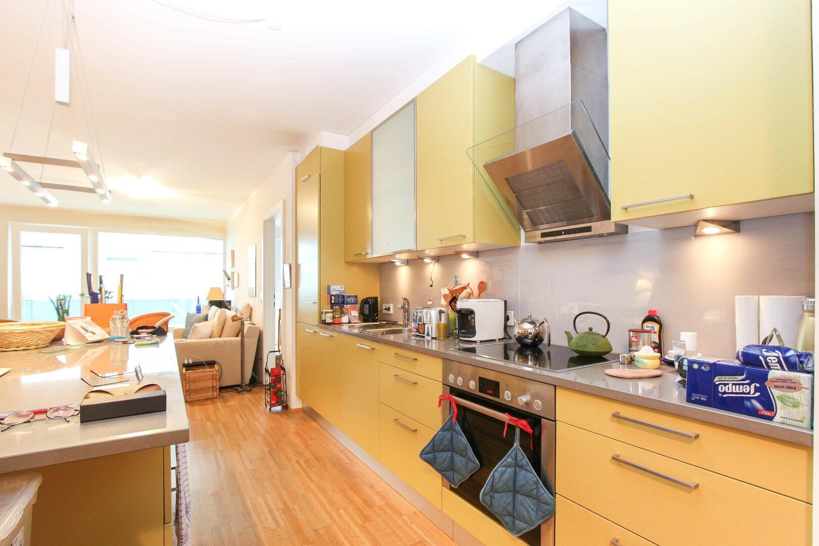 Wohnbereich / offene Küche