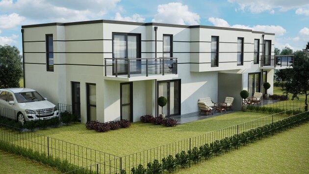 Foto von Ebenerdiges Baugrundstück für 2 Doppelhaushälften oder 3 Einfamilienhäuser unweit der Hauptstraße/Bahnhof Mödling!!