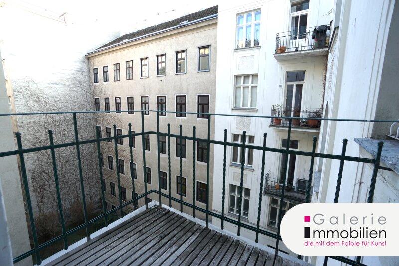 Westbahnstrasse - hofseitiger Stilaltbau mit Balkon und Garage im Haus Objekt_35158 Bild_274