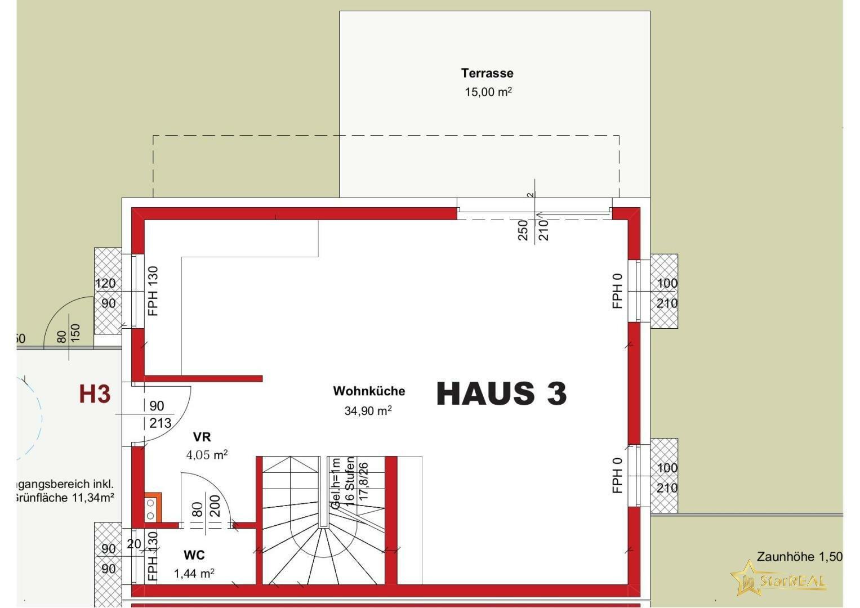 HAUS 3 Erdgeschoss