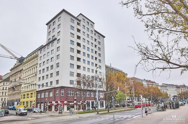 Foto von NEU! ++ SCHWEDENPLATZ 1010 WIEN ++ Wohnen Sie auch im Zentrum der lebenswertesten Stadt der Welt ++ 9. Liftstock mit Panoramablick auf den Donaukanal, Urania sowie Prater Riesenrad ++