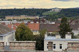 Schicke Dachmaisonette mit 2 großen Terrassen und traumhaftem Ausblick Nähe Meiselmarkt!