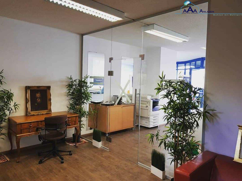 Blick ins Büro