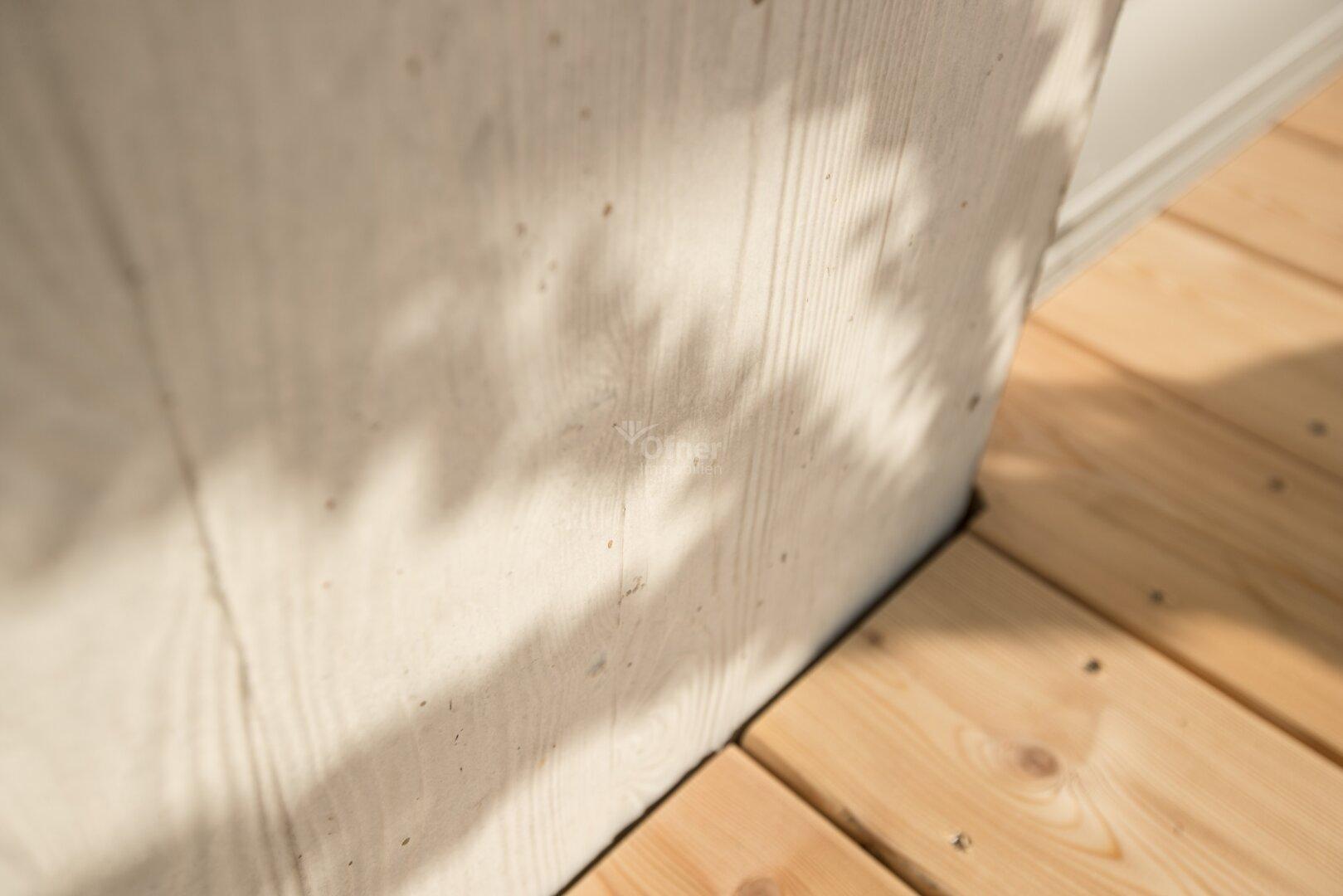 Detail Außenwand / Terrassenboden