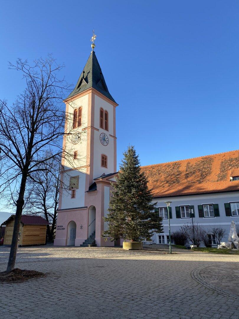 Einzigartiger Kirchturm
