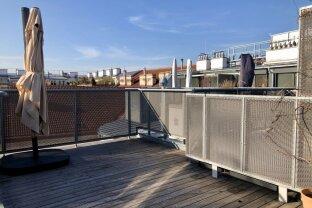 Außergewöhnliche DG-Maisonette mit großer Terrasse im Pratercottage