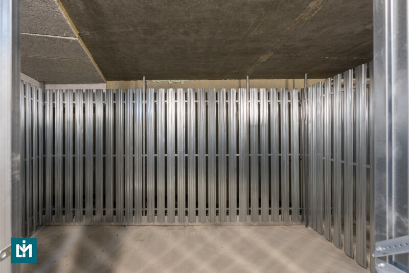 Großzügige Kellerabteile in einem soeben fertiggestellten Neubau