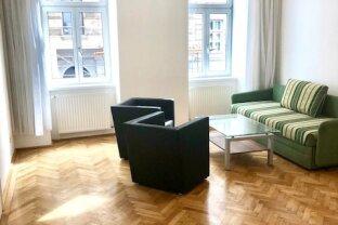 Klassische 2,5-Zimmer Wiener-Altbau-Wohnung in Top Lage - Roßauer Lände!