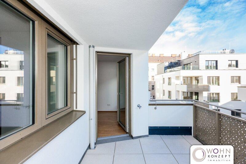 Goldegg Gardens: 54m² Erstbezug + 9,4m² Balkon - 1040 Wien