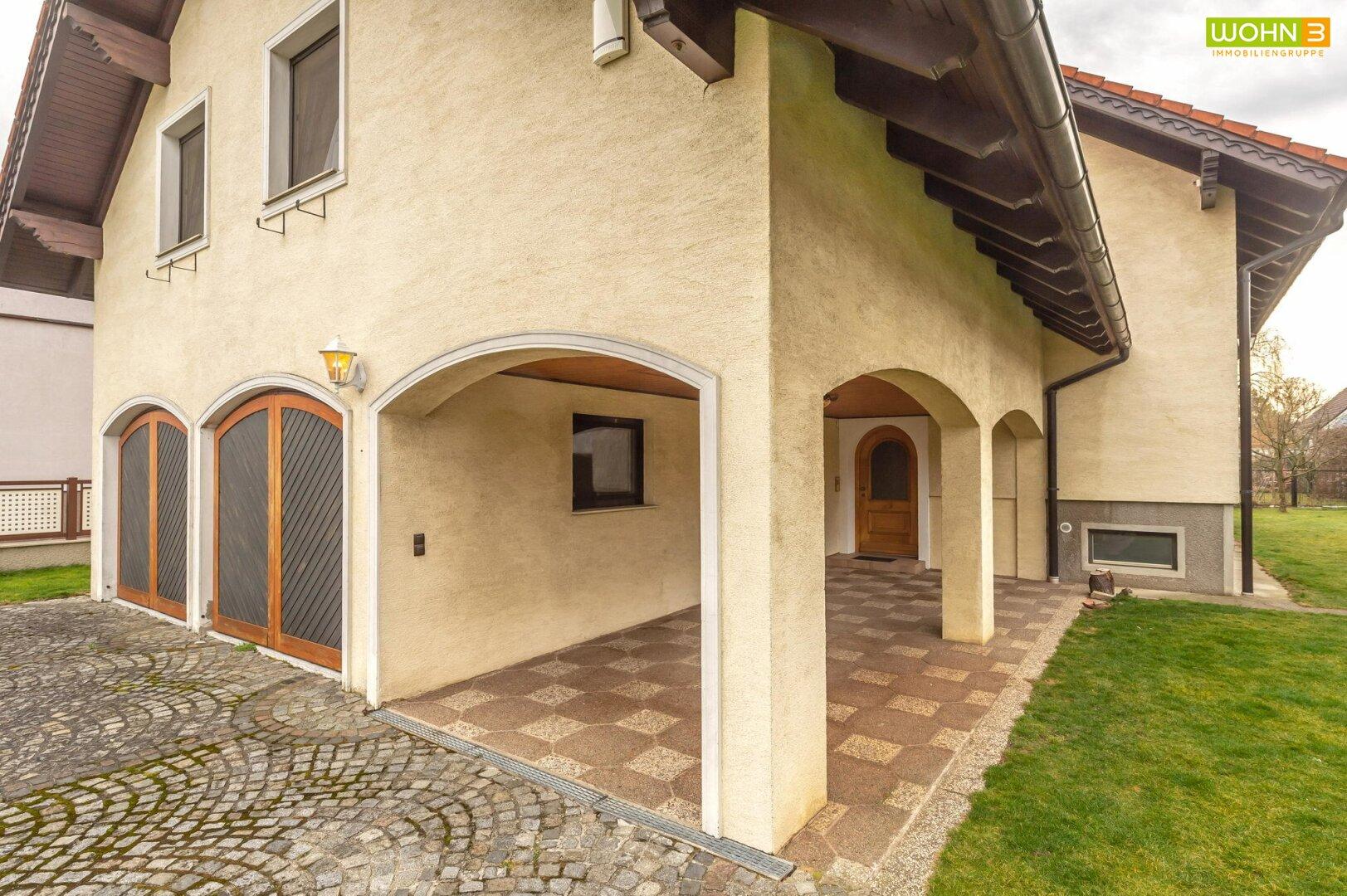 Zugangsbereich zum Haus