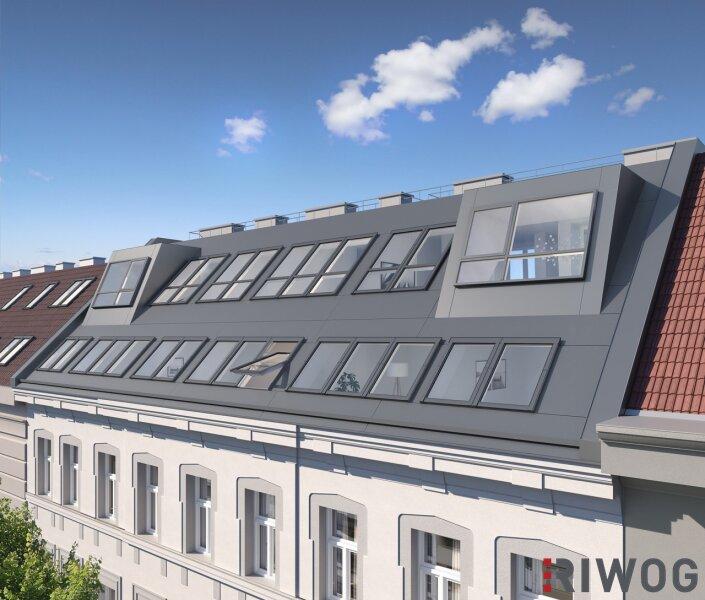 Ruhige Innenhoflage - moderne Dachgeschoßwohnung mit Freifläche