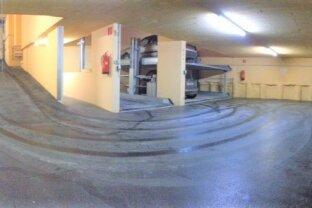 Schöner Stapelpark-Garagenplatz in der Draskovichgasse (U3 Hütteldorfer Straße)