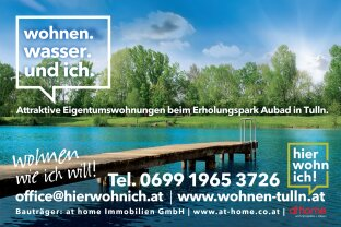 Attraktive Eigentumswohnungen beim Erholungspark Aubad in Tulln
