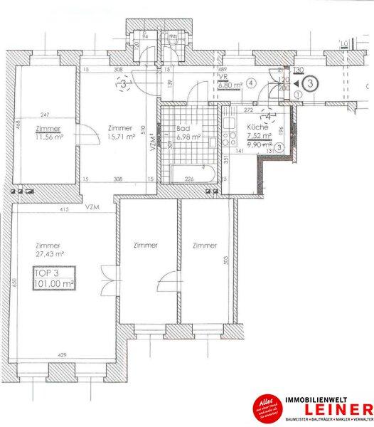 1180 Wien - Eigentumswohnung mit 5 Zimmern gegenüber vom Schubertpark Objekt_9664 Bild_713
