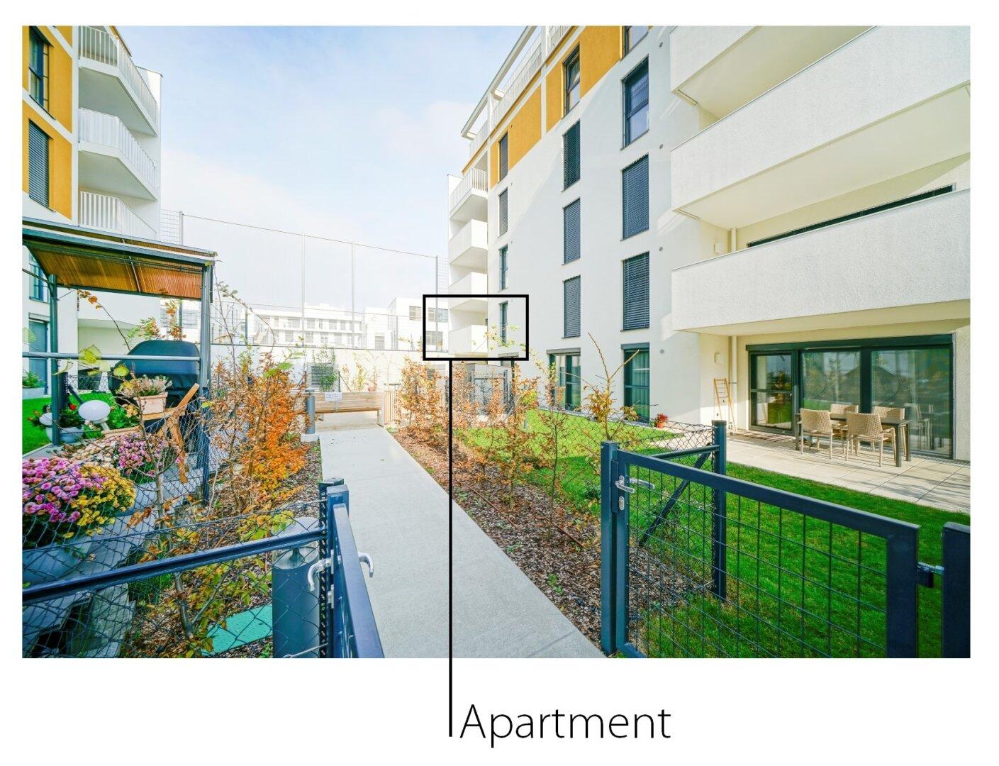 Wohnung/Loggia im 1.OG