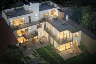 NEUBAU - DACHGESCHOSS , 3 Zimmer auf 68 m² mit 27 m² Terrasse & 47,33 m² Dachterrasse
