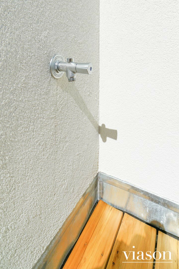 Wasserentnahmestelle Balkon