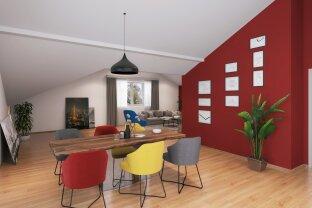 Wohnzimmer des Neubauprojektes in St. Georgen im Attergau www.cl-immogroup.at office@cl-immogroup.at
