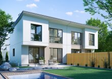 Exklusives Doppelhaus 5 Zimmer+Vollkeller Provisionsfreier Erstbezug