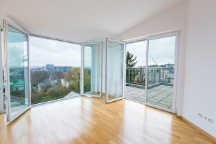Dachgeschoss mit fantastischem Blick über Wien