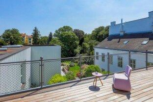 RARITÄT: Außergewöhnliches Dachgeschoß mit Dachterrasse in Alt-Hietzing - ERSTBEZUG