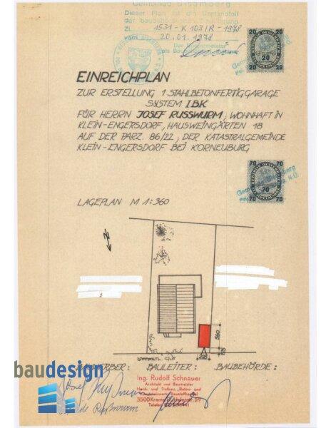 Gelegenheit !  Bisamberg/Kleinengersdorf - Einfamilienhaus in schöner ruhiger Lage mit großer Terrasse /  / 2102Kleinengersdorf / Bild 9