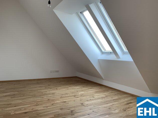 Erstklassige Dachgeschosswohnung – ERSTBEZUG beim Storchengrund.
