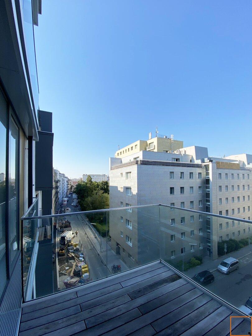 Südwest-Balkon - Ausblick