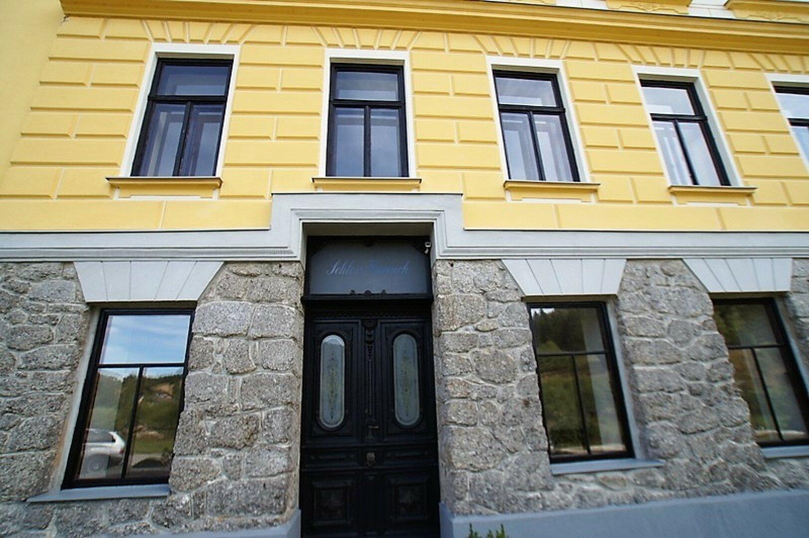 Das Landhaus, Eingang