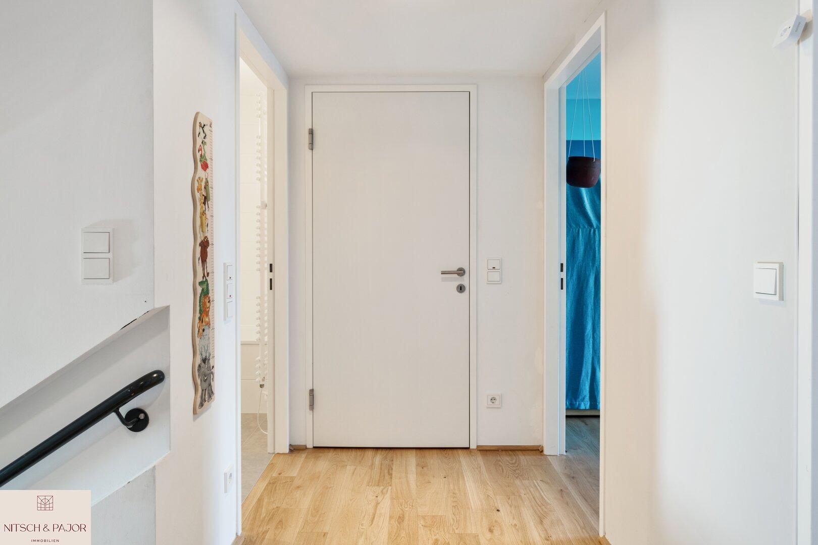 Vorraum zum Badezimmer und den Schlafräumen