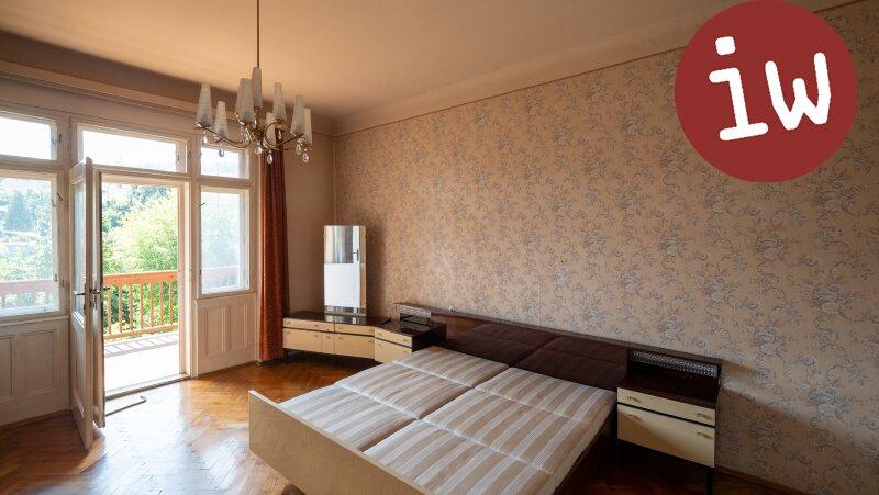 Zentrum: Charmanter Altbau 3 Zimmer Eigentumswohnung mit Loggia und Garten Objekt_638 Bild_14