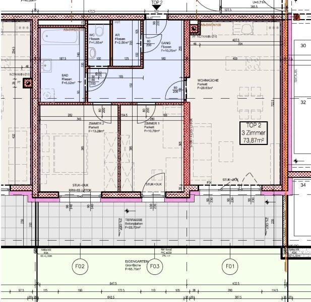 Top 2 - Freifinanzierte 3 Zimmer Wohnung mit Garten - MIETEN ODER MIETKAUF /  / 2700Wiener Neustadt / Bild 4