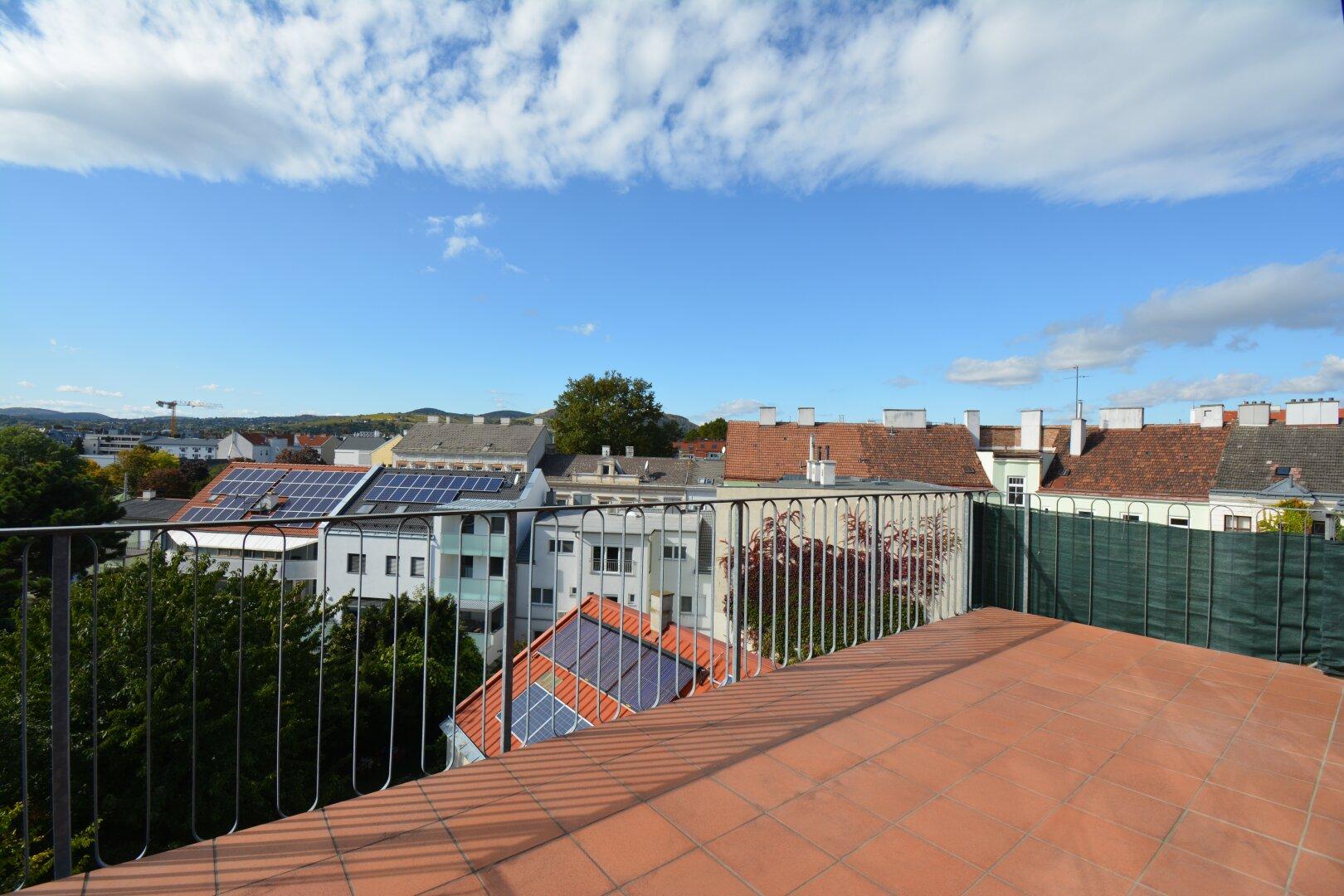 Ausblick Balkon / Terrasse