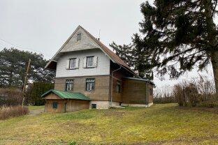 Döblinger Höhenlage - 970 m² Eigengrund - mitten in den Weinbergen - Blick auf Kahlenberg + Leopoldsberg