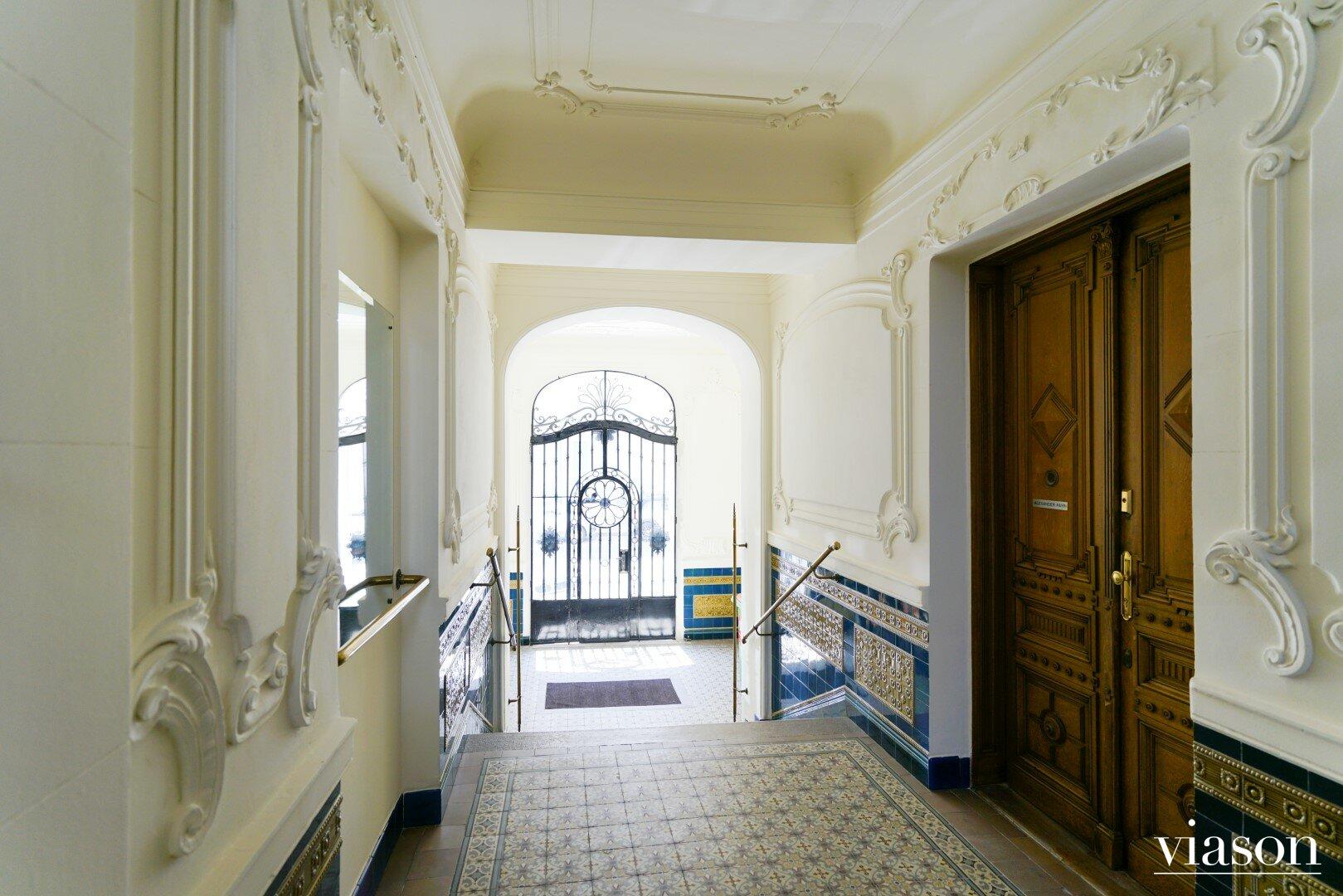 Stiegenhaus Eingangsbereich