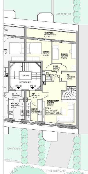 SELBST GESTALTEN? 4-Zimmer Dachgeschoßwohnung in bester Wohnlage /  / 1180Wien / Bild 8