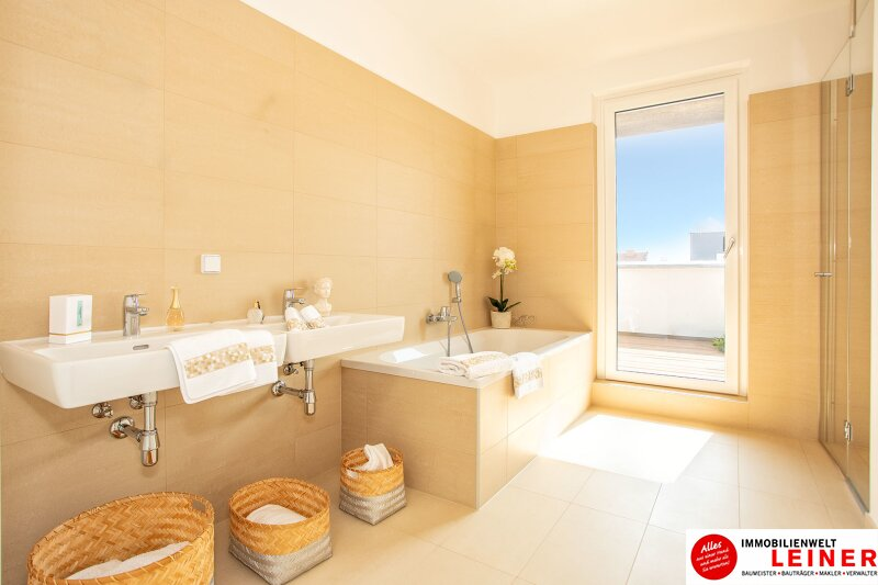 100 m² PENTHOUSE *UNBEFRISTET*Schwechat - 3 Zimmer Penthouse im Erstbezug mit 54 m² großer südseitiger Terrasse Objekt_9215 Bild_612