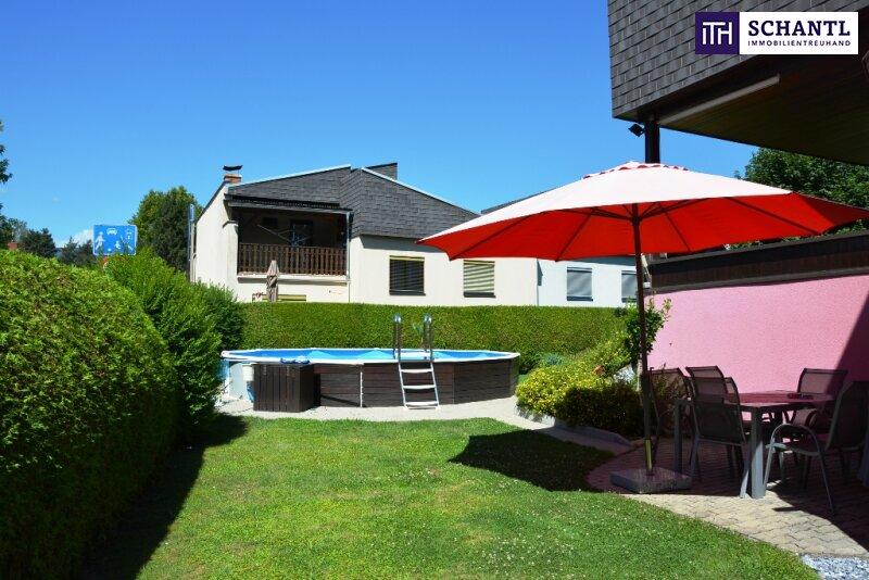 Einziehen und die Seele baumeln lassen!!! Einfamilienhaus mit Pool, Garage, Carport + wunderschönem Garten in Deutschlandsberg