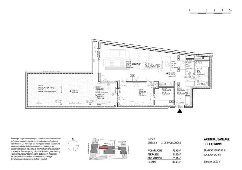 AUßERGEWÖHNLICHE DACHGARTENWOHNUNG MIT WEITBLICK UND VIEL STAURAUM /  / 2020Gemeinde Hollabrunn / Bild 4