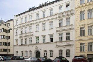 Jetzt für später vorsorgen ... vermietete Altbauwohnung in Währing
